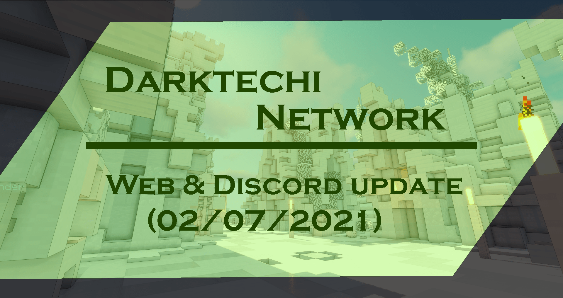 Darktechi Update | Web & Server update (02/07/2021)